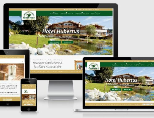 Relaunch Website Hotel Hubertus