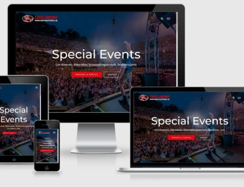 Website Rass & Dorner Specialevents